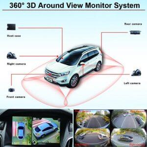 دوربین 360 درجه خودرو تویوتا لندکروز
