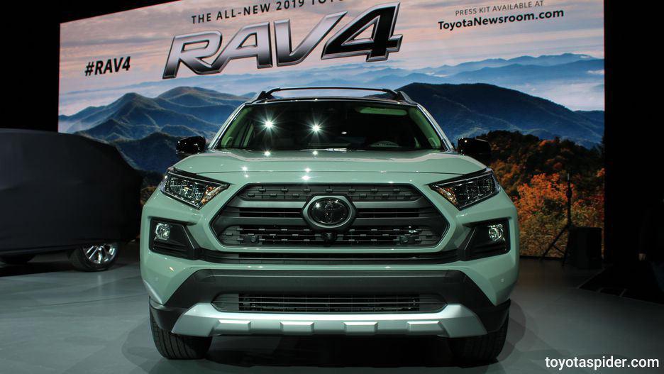 Toyota RAV4 2019 گالری تصاویر تویوتا راوفور 2019