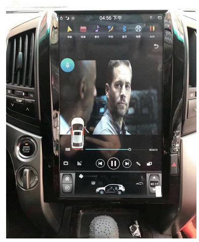 مانیتور تویوتا لندکروز 8 سیلندر 2008 - مدل تسلا