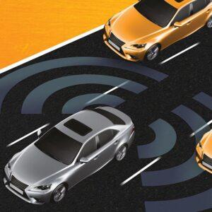 سیستم رادار نقطه کور برای خودرو تویوتا