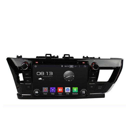 مانیتور خودرو تویوتا کرولا ۲۰۱۴ - اندرویدی،وای فای، GPS