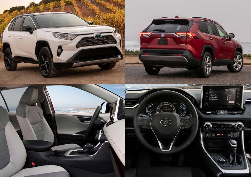 گالری تصاویر تویوتا راوفور هیبرید 2019 - Toyota RAV4 Hybrid