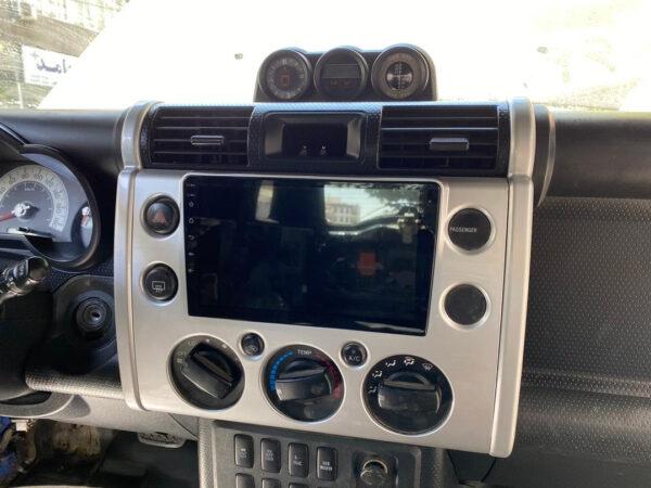 مانیتور تویوتا اف جی کروز - فابریک و اندروید Toyota FJ Cruiser Monitor